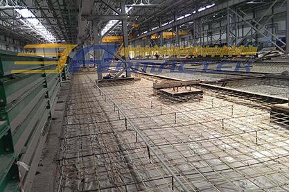 Промышленные полы, г. Новосибирск