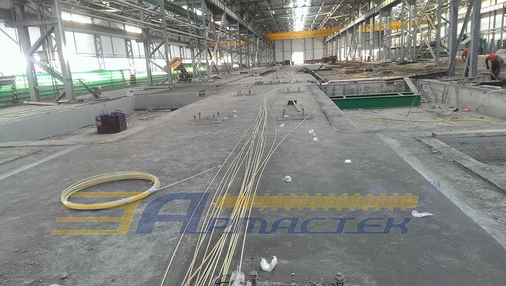 Industrial floors, Novosibirsk (Russia)